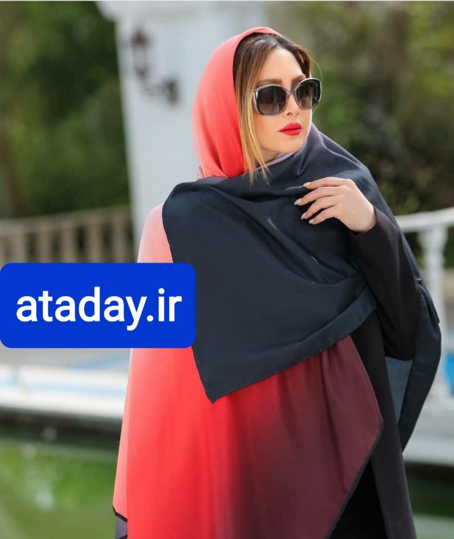 روسری نخی طرح طیف | ataday.ir